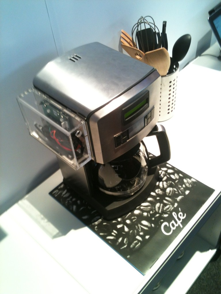 The Cisco coffee machine connected to the Internet