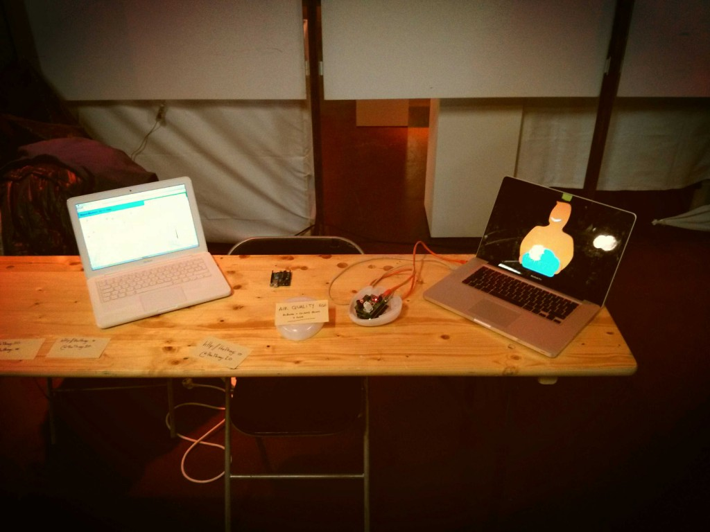 Our booth at Make Munich