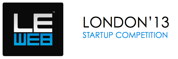 LeWeb Lodon Startup Competition