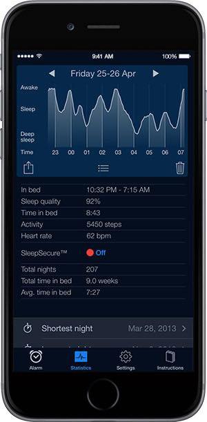 Sleep Cycle iPhone