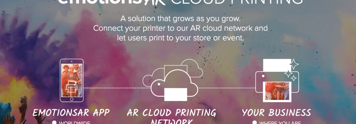 emotionsAR cloud printing service