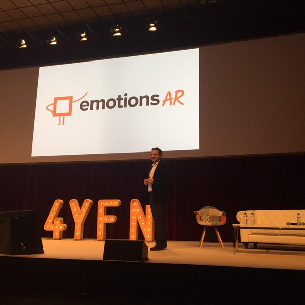 Josep Balleste CEO of EmotionsAR at 4YFN