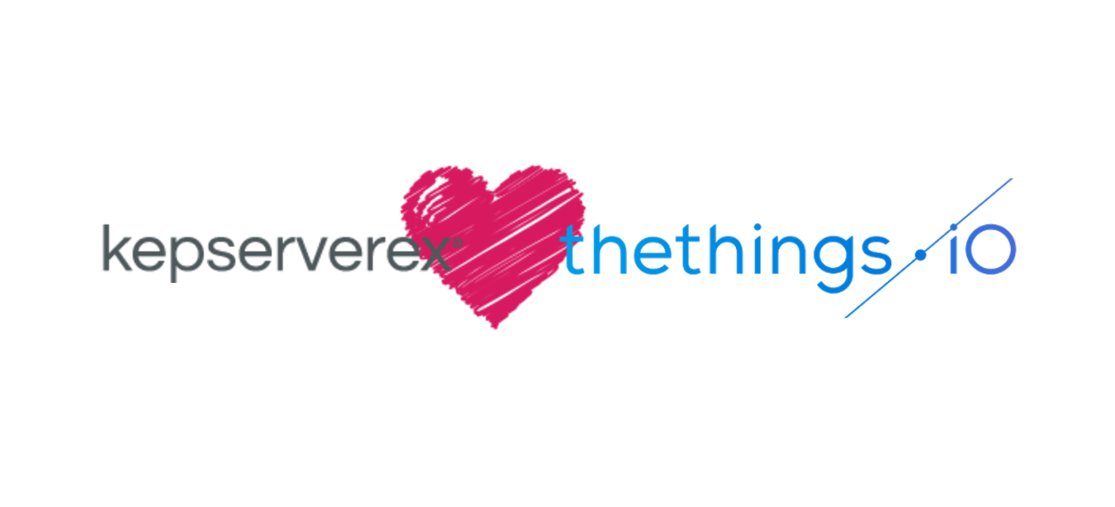 kepserverex and thethingsiO IoT platform