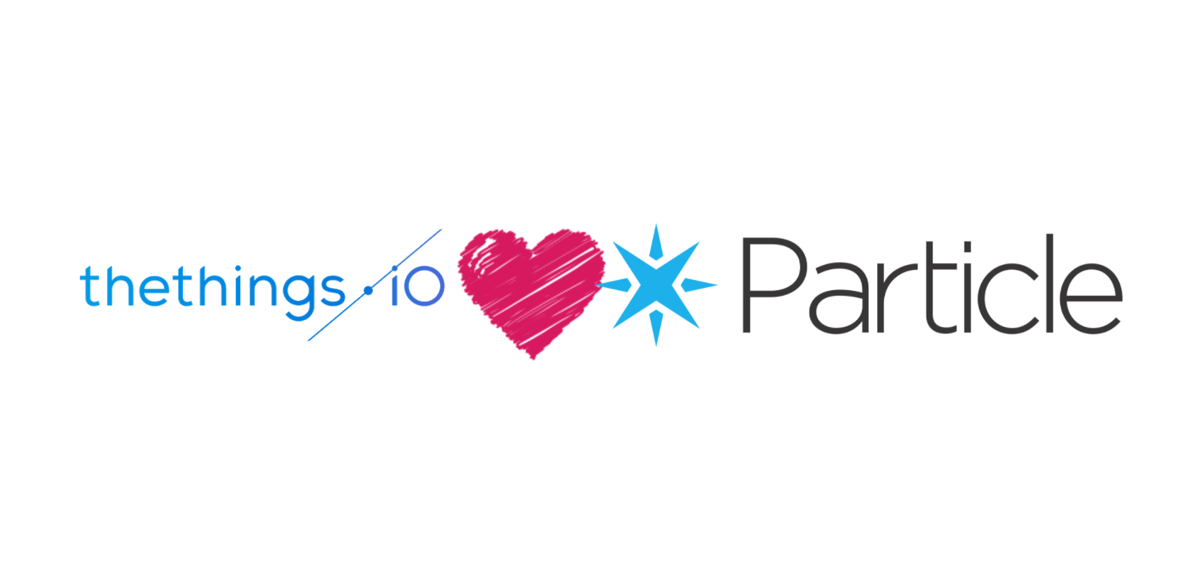 Particle loves thethings.iO IoT platform