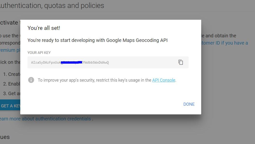 Geocoding location coordinates to addresses from GPS