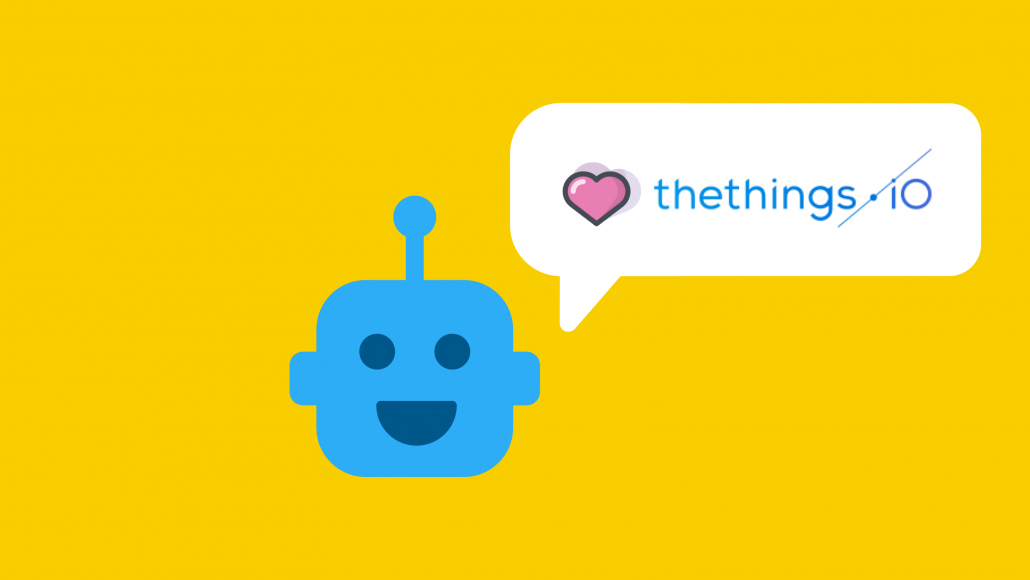 - chatbots iot platform thethingsiO 1030x580 - Chatbots and Internet of Things with thethings.iO IoT platform